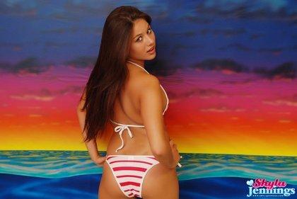 shayla jennings sexy bikini babe2