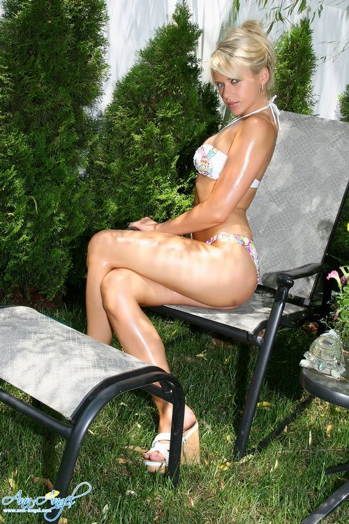 ann angel sexy bikini